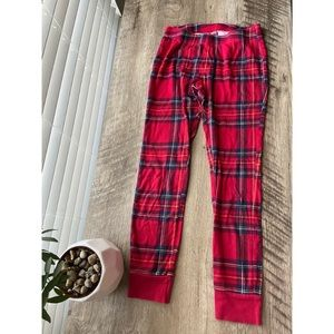 Old Navy: Plaid red and blue Christmas pj